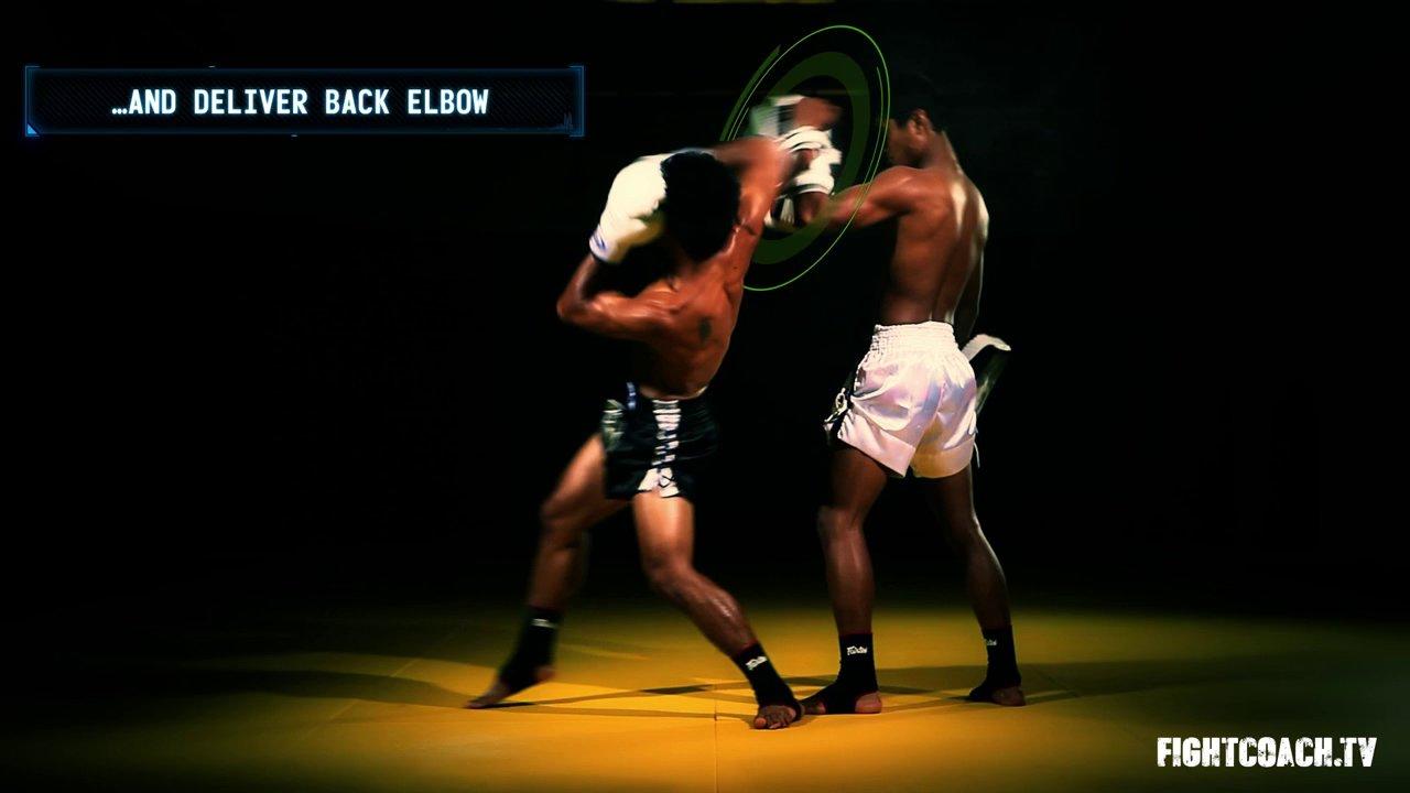 Muay thai elbow